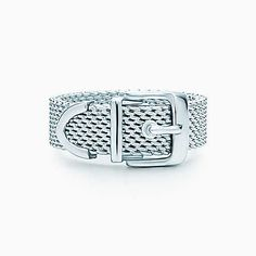 Tiffany Somerset™ buckle ring in sterling silver.