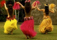I miss my hula days! Life In Paradise, Hula Dancers, South Pacific, Just Dance, Showgirls, Tahiti, Maui, Hawaiian, Illustration Art