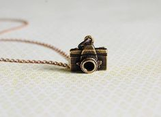 The Photographer Necklace by Verabel - Etsy #Etsy #Verabel