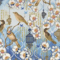 Hoffman birds and blossoms