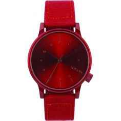 The Winston Heritage marries the casual charm of fashion denim with the luxury impact of KOMONO watches. Watches For Men, Men's Watches, Stylish, Red, Accessories, Jewelry, Amazon, Products, Wristwatches