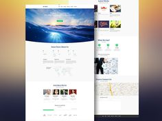Aqual – Free website template #template