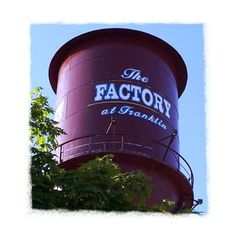 The Factory in Franklin, TN - one of my favorite places to visit!