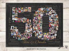 50th Wedding Anniversary Gift 50th Birthday by YourLifeMyDesign