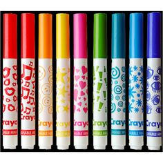 marker stamps I loved these!!