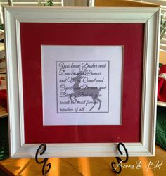 Rudolph Printable~An easy and very inexpensive  idea to add some Christmas decor to your home.