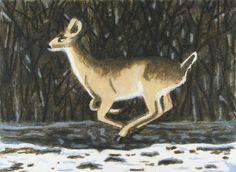 Bosman Winter Deer print.