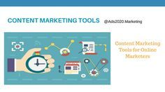 Best Content #Marketing #Tools for… http://www.ads2020.marketing/2016/04/content-marketers-best-tools-software-online-web-programs.html