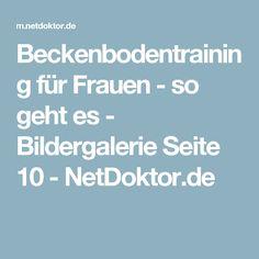 Beckenbodentraining für Frauen - so geht es - Bildergalerie Seite 10 - NetDoktor.de