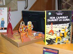 75è aniversari publicació de Tintín. Treballs fets pels alumnes a plàstica. 2007
