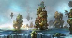 ArtStation - Environment practice , Fino Feng
