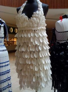 Julie Gallo Plastic Spoon Dress (photo by Aaron White)