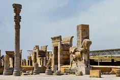 Marvdasht, Fars, Iran Takht-e Jamshid (Persepolis) Unfinished gate