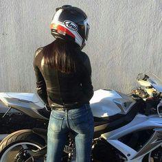 LB Lady Biker, Biker Girl, Motorbike Girl, Motorcycle Girls, Black Siren, Moto Bike, Biker Chick, Badass Women, Biker Style