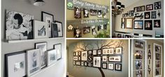 Shocking Ideas to Create Warm Looking Family Gallery Wall