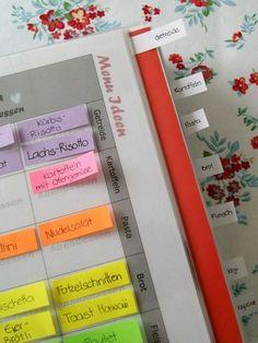 Menu-Planer für Familien - Fantasiewerk