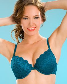 0a95ff317dc Camille Womens Ladies Teal Push Up Plunge Padded Underwired Bra Size ave up  to Off at CamilleLingerie with Discount and Voucher Codes.