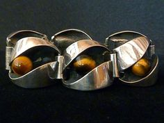 Kinetic Rolling Tiger's Eye Ball Vintage Finland Sterling Bracelet Hyvarinen 70s | Jewelry & Watches, Vintage & Antique Jewelry, Fine | eBay!