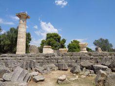 Tempel des Zeus in Olympia im Jahr 2014
