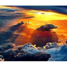#sky #heaven #clouds #beautiful #sunset #sun #light #rays #land #air #fly #photography #instagram #cool #up #pretty