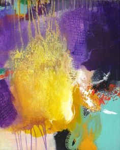 Original abstract painting modern art acrylic by ARTbyKirsten, €119.00