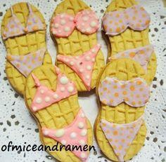 Bikini Nutter Butter Cookies