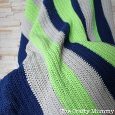 simple boy blanket navy lime stone-i love these colors!!