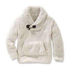 Little Man Style - Toddler Boys Shawl Collar Sweater - Joe Fresh Boys Fall Fashion, Toddler Boy Fashion, Little Boy Fashion, Toddler Boys, Women's Fashion, Baby Outfits, Toddler Outfits, Kids Outfits, Knitting For Kids