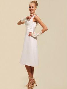 $146.99 Modest Tea Length Short Cocktail Dress #cocktail #dress