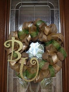 baylor wreath - Google Search