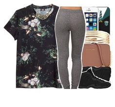 """""""•"""" by abigail-petion ❤ liked on Polyvore featuring Michael Kors, NIKE, H&M, Forever 21 and Charlotte Russe"""