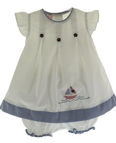 Hiccups Childrens Boutique - Willbeth Infant Girls White