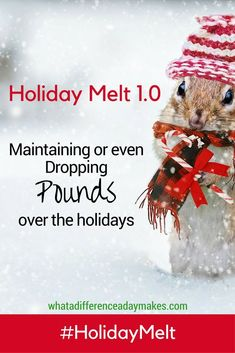 Holiday Melt - Maintaining or even dropping pounds during the holidays