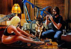 David Mann Posters | have a David Mann break〜 #11 : -THE WORLD/PSYCHO WHEELS-