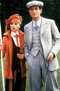 Tommy and Tuppence Beresford - Francesca Annis and James Warwick Period Costumes, Movie Costumes, Agatha Christie, Barbara Flynn, Pbs Mystery, The Secret Adversary, Samantha Bond, Francesca Annis, President Ronald Reagan
