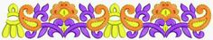 Attractive Floral Designer Lace Patterns - Embdesigntube
