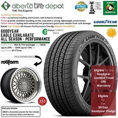 Goodyear EAGLE EXHILARATE All Season Performance Tire 235/40ZR19 XL 96Y Rotiform Wheels Goodyear Eagle, Service Map, Performance Tyres, Wheels, Seasons, Seasons Of The Year
