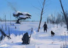 Чертовски круто рисует художник Якуб Розальски