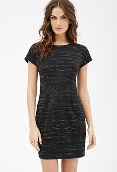 Marled Knit Sheath Dress   LOVE21   #f21contemporary