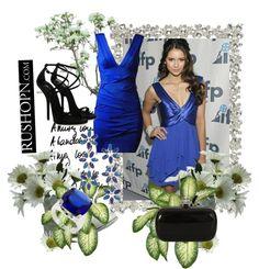 """""""The 2013 Blue Venice Dress"""" by mskulamshy on Polyvore"""