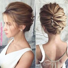 medium length wedding hairstyles truly are trendy. This medium length wedding hairstyles truly are trendy.This medium length wedding hairstyles truly are trendy. Updos For Medium Length Hair, Short Hair Updo, Short Wedding Hair, Wedding Hair And Makeup, Medium Hair Styles, Curly Hair Styles, Trendy Wedding, Medium Length Wedding Hairstyles, Updo Curly