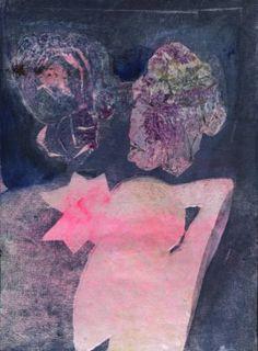 """Saatchi Art Artist ALINA FEDOTOVA; Painting, """"Self-portrait  in stars"""" #art"""