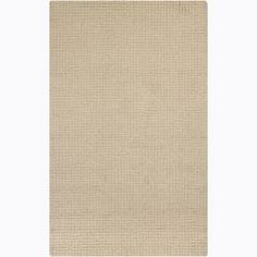 @Overstock.com.com - Hand-tufted Mandara Ivory Rug (4' x 6') - Guests will never again focus on your stained flooring when you lay down this neutral hand-tufted rug. Made from cotton and New Zealand wool, the rug has a thicker pile that is so comfortable that you might start sitting on the floor.  http://www.overstock.com/Home-Garden/Hand-tufted-Mandara-Ivory-Rug-4-x-6/6236230/product.html?CID=214117 $133.19