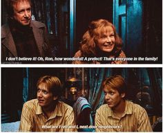 Ahhhh Fred and George. My Birthday is only 5 days from theirs.
