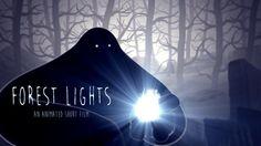 Forest Lights   #video #animation #2d #3d