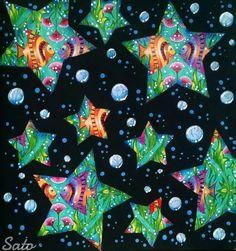 ✨🐟🐠✨ #johannabasford #lostocean #oceanoperdido #setemares #coloringbook #colorindolivrostop #divasdasartes #prazeremcolorir #arte_e_colorir #adultcoloring #coloring_secrets #arttherapy #colortherapy #fish #stars #beautiful #amazing #lostoceancolors #instaart #instagood