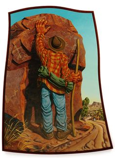 Jim Vogel - Blue Rain Gallery / Santa Fe New Mexico Road Signs