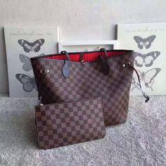 Bolsa Louis Vuitton Neverfull Damier Ebene GM adac83e4a5b