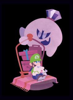 Luigi's mansion 3 by satoutoko on DeviantArt Super Mario Bros, Super Mario Brothers, Metroid, Videogames, Assassin, Luigi And Daisy, Luigi's Mansion 3, King Boo, Nintendo Characters