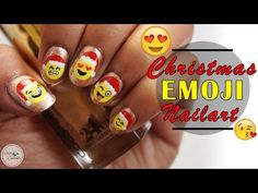 Watch Emoji Nail Art   Cute Emoji Nail Art Tutorial video by Stacey Castanha @Viewoo.in. Viewoo is your one stop destination for curated and shopable videos on beauty and makeup.